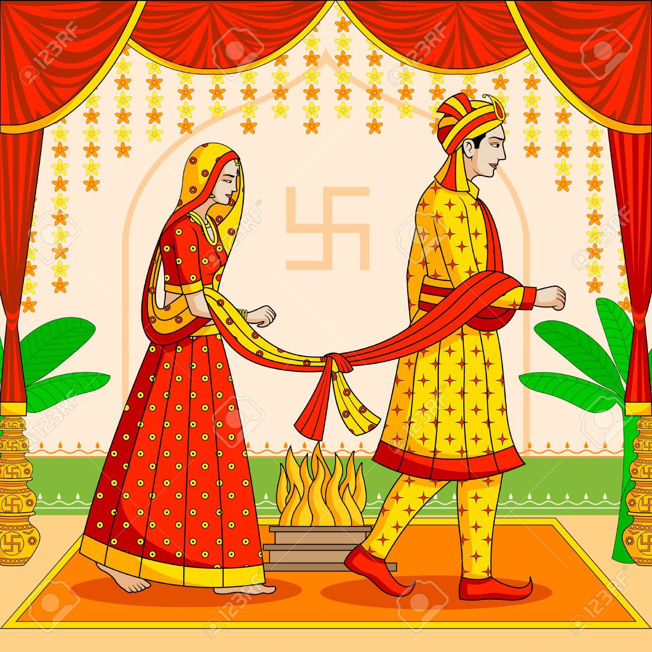 Indian wife can file for divorce in India even if marriage has happened abroad.